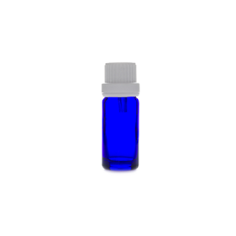 10ml blue glass bottle