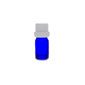 5ml blue glass bottle