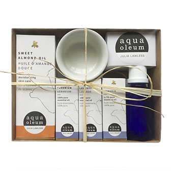 Aromatherapy Body Care Starter Kit